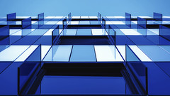 Blue (AO-photos) Tags: blue windows building architecture