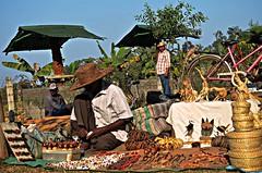 Marketplace At 'Sonajhurir Haat' (Market at Sonajhuri), Santiniketan (Bolpur) (Sarkar.debasrita) Tags: india photography village market marketplace haat kolkata westbengal birbhum santiniketan bolpur sonajhuri bolepu