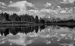 Lucky Clouds (Jeff Clow) Tags: mountmoran grandtetonnationalpark oxbowbend jacksonholewyoming ©jeffrclow jeffclowphototours