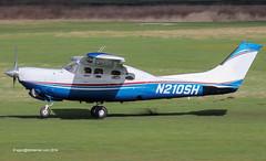 N210SH - 1981 build Cessna P210N Pressurised Centurion (Silver Eagle conversion), arriving on Runway 27R at Barton (egcc) Tags: silver manchester conversion eagle rr rollsroyce barton cessna turboprop centurion 210 twoten cityairport pressurized p210n 210n egcb n210sh p21000739