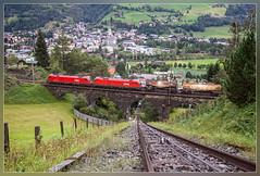 OBB 1216 145, Bad Hofgastein 15.9.2012 (VTZK) Tags: salzburg train austria siemens zug taurus bahn trein badhofgastein obb 1216 tauern tauernbahn schlossalmbahn