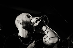 L'hiver en deuil (Where the gloom becomes sound) Tags: bw en music black metal dark photography death la photo concert guitar hiver nb nathalie satan zone luik ersatz lige lhiver 600d deuil khansa dotnat