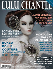 LULU CHANTEL FRONT COVER Montaigne Market Elise Jolie (Culte De Paris) Tags: jason paris tower scale fashion magazine de toys miniature julia lulu elise market jewelry eiffel cover dresses handcrafted jolie 16 wu chantel iconic fr couture leroy royalty parisian haute montaigne integrity fr2 culte vision:people=099 vision:face=099 vision:sky=0855 vision:outdoor=0932