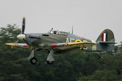 Hawker Hurricane Mk12 G-HURR BD707 AE-C (Crazy Horse Aviation Photography) Tags: plane airplane fighter aircraft aviation hurricane wwii worldwarii ww2 warbird hawker worldwar2