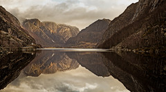 330 (BjrnP) Tags: trees light mountains water colors norway clouds canon reflections landscape norge explore