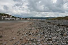 Conwy Beach Looking Towards Deganwy (uksean13) Tags: sea beach sand stones pebble conwy northwales deganwy