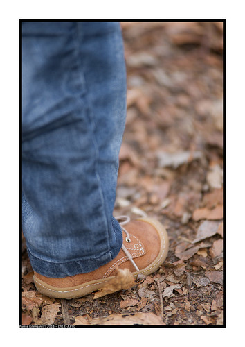 Chaussure en forêt