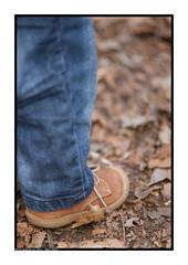 Chaussure en forêt (Pierre_Bn) Tags: sony alsace foret bébé chaussure alsacienne a850