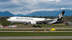 ZK-OKC - Air New Zealand - Boeing 777-219/ER (bcavpics) Tags: canada vancouver plane airplane britishcolumbia aircraft aviation boeing yvr 777 airnewzealand airliner anz zkokc bcpics