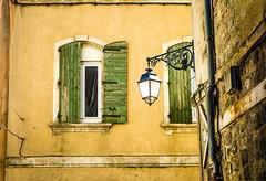 Arles shutters (kimbar/Thanks for 2 million views!) Tags: windows france lamp streetlamp shutters arles