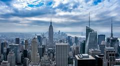 "Top of the Rock (!"" Carlos Mazariegos) Tags: new york building rock skyline landscapes state top manhattan carlos empire mazariegos crlsm11 httpswwwfacebookcomcarlosfmazariegos"