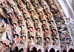 Colegiata de Santa Mara la Mayor, Toro (Zamora, Espaa) (ipomar47) Tags: door puerta gate pentax gothic porch portal romanesque iconography portada majesty k5 romanico gotico polychrome atrio lateromanesque policroma iconografa majestad tardoromanico