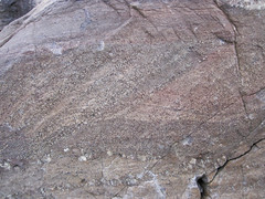 Baraboo Quartzite (upper Paleoproterozoic, ~1.7 Ga; Tumbled Rocks Trail, Devil's Lake State Park, Wisconsin, USA) 3 (James St. John) Tags: park lake rocks state south devils trail ranges range quartzite baraboo precambrian tumbled paleoproterozoic proterozoic