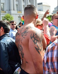 SF Pride - 2015 - Rumpelstilzchen! (Little Italy Photography) Tags: sanfrancisco california costumes shirtless white black hot sexy men boys face mexico junk erotic grove market cityhall muscle chest rear ripped marriage peanuts glbt pride front rump tattoos butts lgbt latin bayarea kansas guns backs wrestlers ido civiccenter studs gotmilk larkin equality polk equal mcallister singlet crotches paintedfaces bulges lovewins goldengatestreet squrtgun nikond7100 gaypride2015 nikon35mmf18gafsdxnikkorlens sfpride2015 pride2015