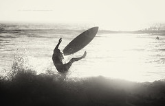 over_board (Jose Antonio Pascoalinho) Tags: ocean water monochrome sport surf outdoor surfer board wave surfing skimboard skimming zedith