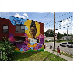 #Daze at home in #Rochester #NewYork for #WallTherapyNY co-curated by #UrbanNationBerlin. #Wallkandy #graffiti #art #painting #mural #CommunityArt #fb #f #t #graffiti @dazeworldnyc @urbannationberlin @walltherapyny (Photos  Ian Cox - Wallkandy.net) Tags: street streetart newyork art canon ian photography graffiti gallery rochester document cox daze 2015 wallkandy walltherapyproject