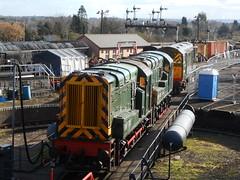 English Electric (ee20213) Tags: svr severnvalleyrailway kidderminster 20059 class20 class09 dickhardy 09012 d8059 d4100