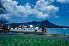 Royal Hawaiian Beachside 1952 (Kamaaina56) Tags: 1950s waikiki hawaii beach slide royalhawaiian
