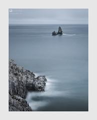 Hopeful II (Stuart Leche) Tags: coast coastal geology landscape longexposure ocean pembrokeshire rocks scenic sea seashore seastack seascape stuartleche tranquility wales wwwstuartlechephotography
