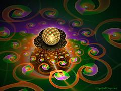 Tile Ball Parplot2d_wf (19) (CopperScaleDragon) Tags: parplot19 tileball jwildfire31 jwf