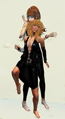 TerraMerhyem_&_Aicha_2016_11 (TerraMerhyem) Tags: femme woman women girl mode fashion belle beauté beauty elegante elegance deux duo two femmes jolie mannequin model topmodel noir black terramerhyem merhyem sexy