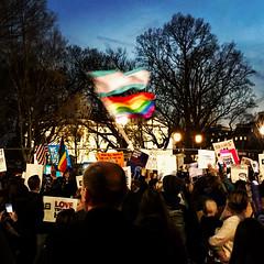 2017.02.22 ProtectTransKids Protest, Washington, DC USA 3823