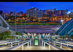 Stairway to San Diego! (Sam Antonio Photography) Tags: usa skyline evening dusk downtown scene cityscape architecture night city modern buildings california urban diego san america outdoor skyscraper beautiful colorful lights commercial romantic street tourist tourism structure landmark built colors scenery twilight landscape skyscrapers business illuminated international sandiego famous financial hotels samantoniophotography stairs staircase center convention vacation holiday exercise scenics nightphotography nightlife photographytips sandiegophotolocations photolocation photography