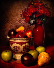 Still life with fruits 1. ©® (The Sergeant AGS (A city guy)) Tags: stilllife fruits colors experiment