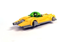 Packard Delphine (timhenderson73) Tags: lego custom moc retro futuristic hover car science fiction art deco dieselpunk