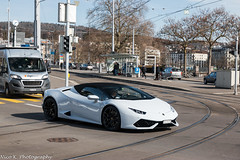 Huracan Spyder (Nico K. Photography) Tags: lamborghini huracán lp6104 spyder white supercars nicokphotography switzerland zürich