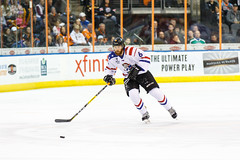 """Missouri Mavericks vs. Allen Americans, March 3, 2017, Silverstein Eye Centers Arena, Independence, Missouri.  Photo: John Howe / Howe Creative Photography • <a style=""""font-size:0.8em;"""" href=""""http://www.flickr.com/photos/134016632@N02/33232471156/"""" target=""""_blank"""">View on Flickr</a>"""