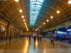 Sydney's Central Railway Station (NettyA) Tags: 2017 australia centralrailwaystation nsw newsouthwales sydney buildings haymarket au appleiphone6