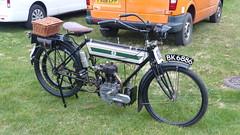 Reg: BK6886, Triumph Motorcycle (bertie's world) Tags: sunbeam pioneer run epsom downs 2017 reg bk6886 triumph motorcycle