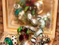 Feelings (Karen McQuilkin) Tags: feeling bracelet beads shamrock ladybugs