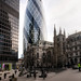 The Gherkin and St Andrew Undershaft
