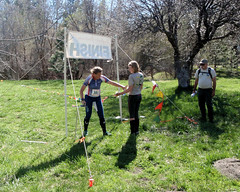 035 Relay Punch In (saschmitz_earthlink_net) Tags: 2017 california orienteering campscherman girlscoutcamp sanbernardinonationalforest sanjacintomountains laoc losangelesorienteeringclub