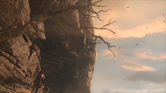 Death and dryness (Gothicpolar) Tags: sun rise tomb raider pc screenshot pretty syria yellow desert game