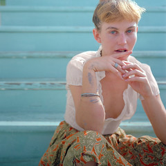 Nettie_Harris_007 (patofoto) Tags: woman color 6x6 film square fuji squareformat sl66 femenine rolleiflexsl66e