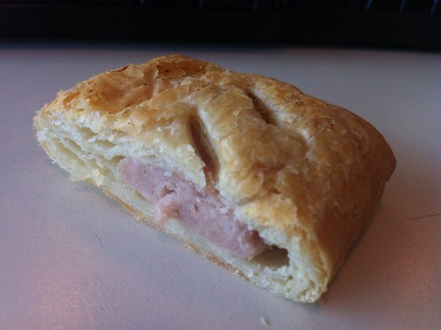Snack - May 20 - slice of sausage roll