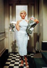 vintagegal: Marilyn Monroe in The Seven Year Itch (1955) (4577246c1e1b7b419e88cca8ab7d2749) Tags: face marilyn fun funny faces time native top lol humor best monroe waste stupidity uber stuppid