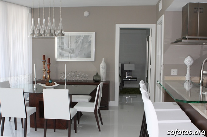 Salas de jantar decoradas (50)