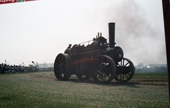 RHTS Rushden Cavalcade 1999 (ian76) Tags: traction lion engine 1999 steam fowler cavalcade haulage rushden pickfords rhts
