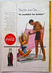 1954 - 1950s Vintage Coca Cola Advertisement From National Geographic Back Page 63 (Christian Montone) Tags: vintage ads advertising coke americana soda cocacola advertisements sodapop vintageads vintageadvert