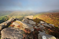 I Kinder Love Mist (matrobinsonphoto) Tags: morning light summer sky cloud sun sunlight mist mountain fog sunrise hope dawn golden spring rocks heather district derbyshire hill peak scout kinder valley edge moors knoll rolling clough edale moorland gritstone grindslow grindsbrook