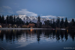 The City Rests.jpg (Burning Torch Productions) Tags: sunset newzealand lake southisland queenstown