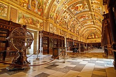 The Library of the Royal Site of San Lorenzo de El Escorial, Spain (Iris Speed Reading) Tags: world latinamerica southamerica beautiful us amazing cool asia europe top library libraries united most states coolest inspiring speedreading