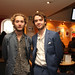 Toby Regbo and Jamie Blackley at a pre-awards drinks reception