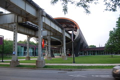 Illinois Institute of Technology (artistmac) Tags: city urban music chicago college st architecture modern train campus illinois student university technology cta state tube center line il institute iit miesvanderrohe van elevated statest der mies tribune urbanrenewal 35th mccormick rohe illinoisinstituteoftechnology vandercook shimer