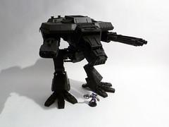 Warhound Titan WIP (AdmGR) Tags: model wolf pattern apocalypse wip 40k warhammer titan warhammer40k gamesworkshop lucius assembled forgeworld warhound