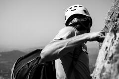 Amunt! (engovi) Tags: climb nikon catalonia catalunya juliol escalada mussara lamussara 2013 d3100